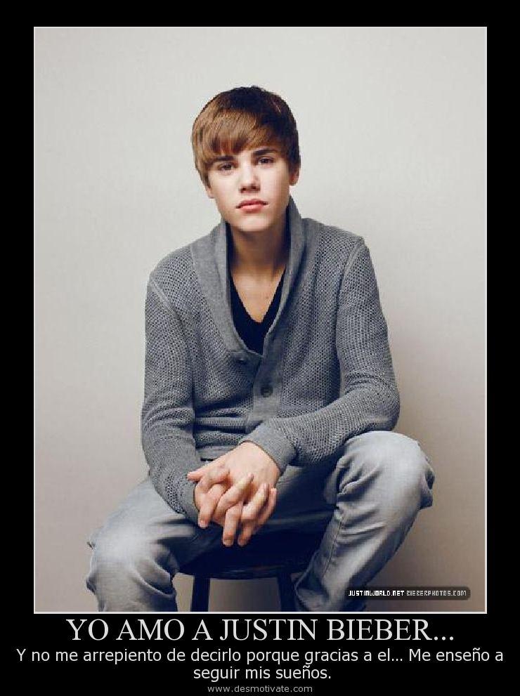 Yo Amo A Justin Bieber Desmotivatecom Frases Y