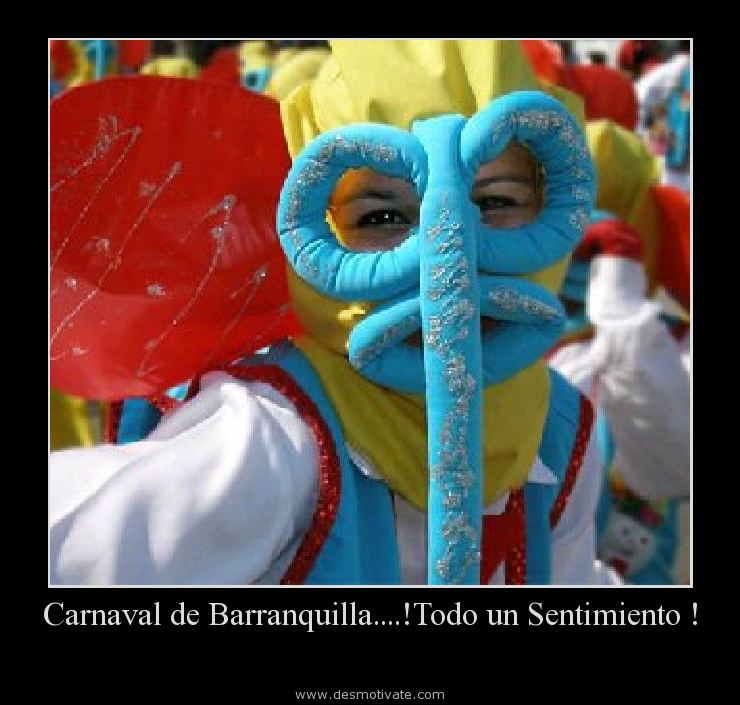 Carnaval De Barranquillatodo Un Sentimiento