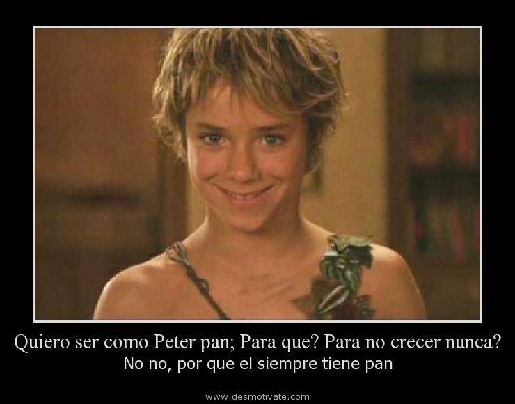 Quiero Ser Como Peter Pan Para Que Para No Crecer Nunca