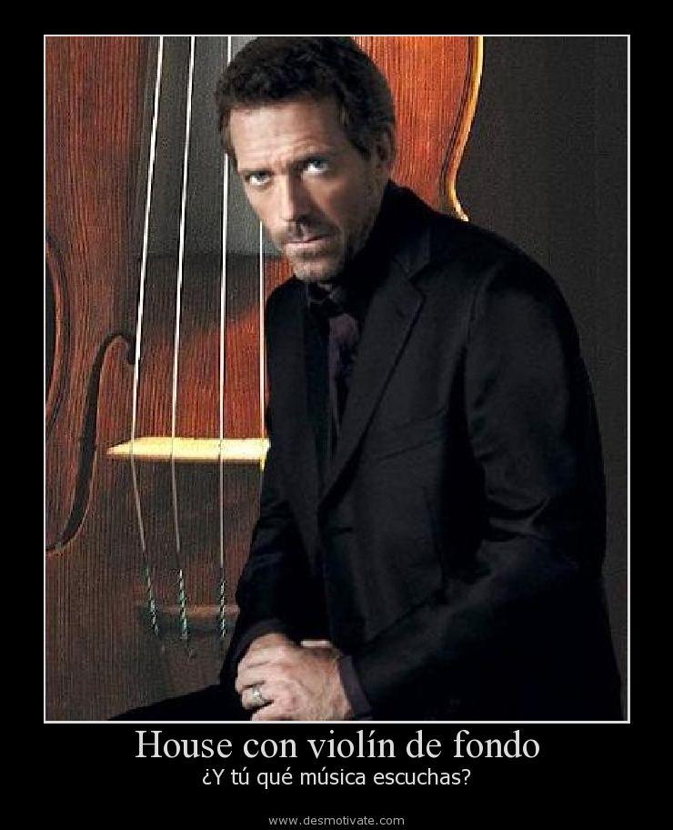 House con violín ...
